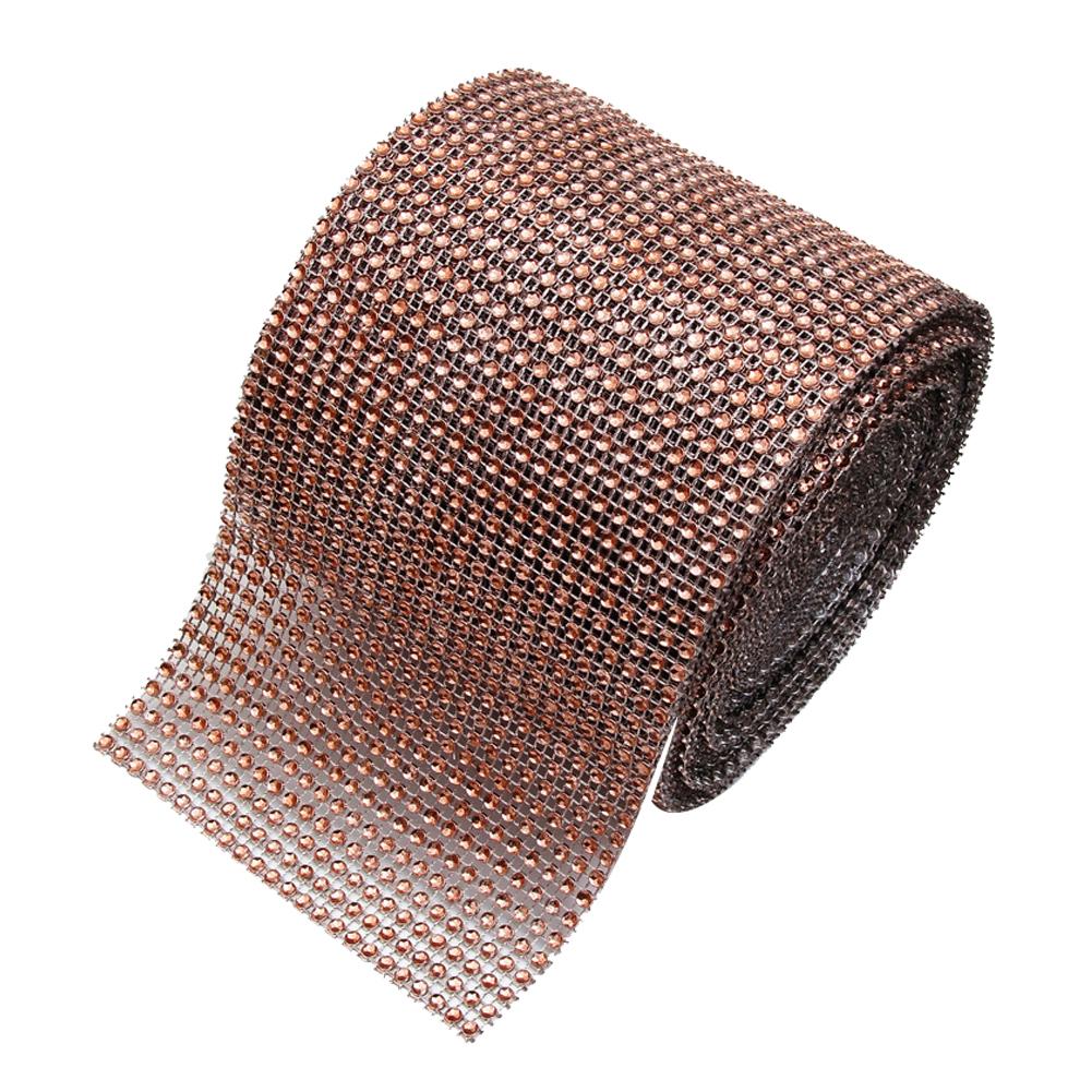 Diamond Rhinestone Ribbon Wrap Bulk 4.6 inches width,Wedding Party Decorations