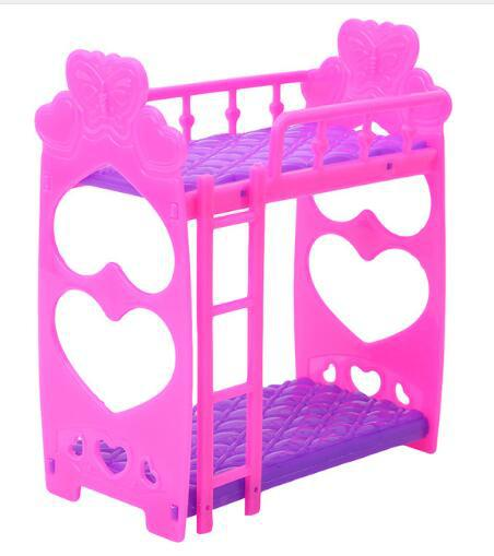 Lanlan 3.5 Inch Plastic Double Bed Frame