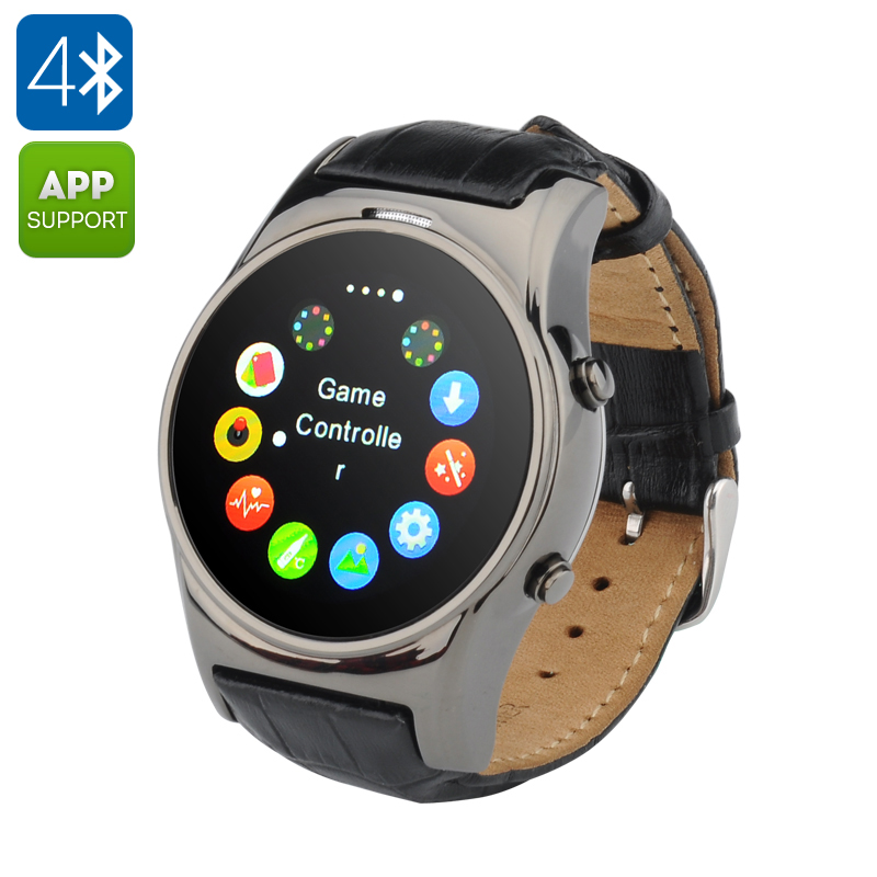 GSM Smart Watch Phone (Black)