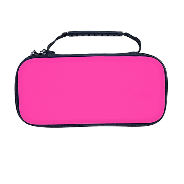 EVA Hard Carrying Cover Case Game Bag for NS Switch Lite Host Controller Storage Box Pink
