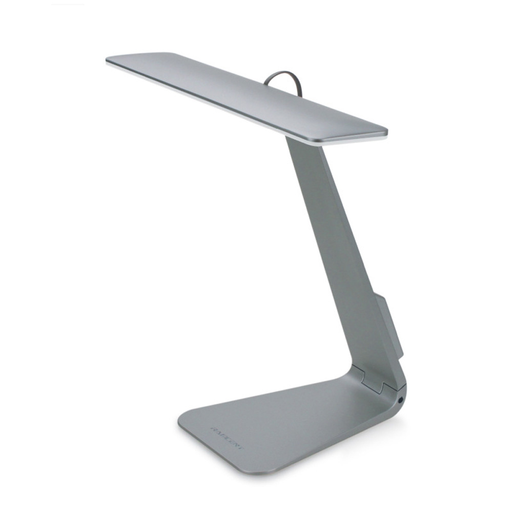 Super Thin LED Desk Lamp Stylish Usb-charged Reading Folding MAC Desk Lamp Student Dormitory Study Simple Table Lamp Grey-foldable base_238 * 132 * 215mm