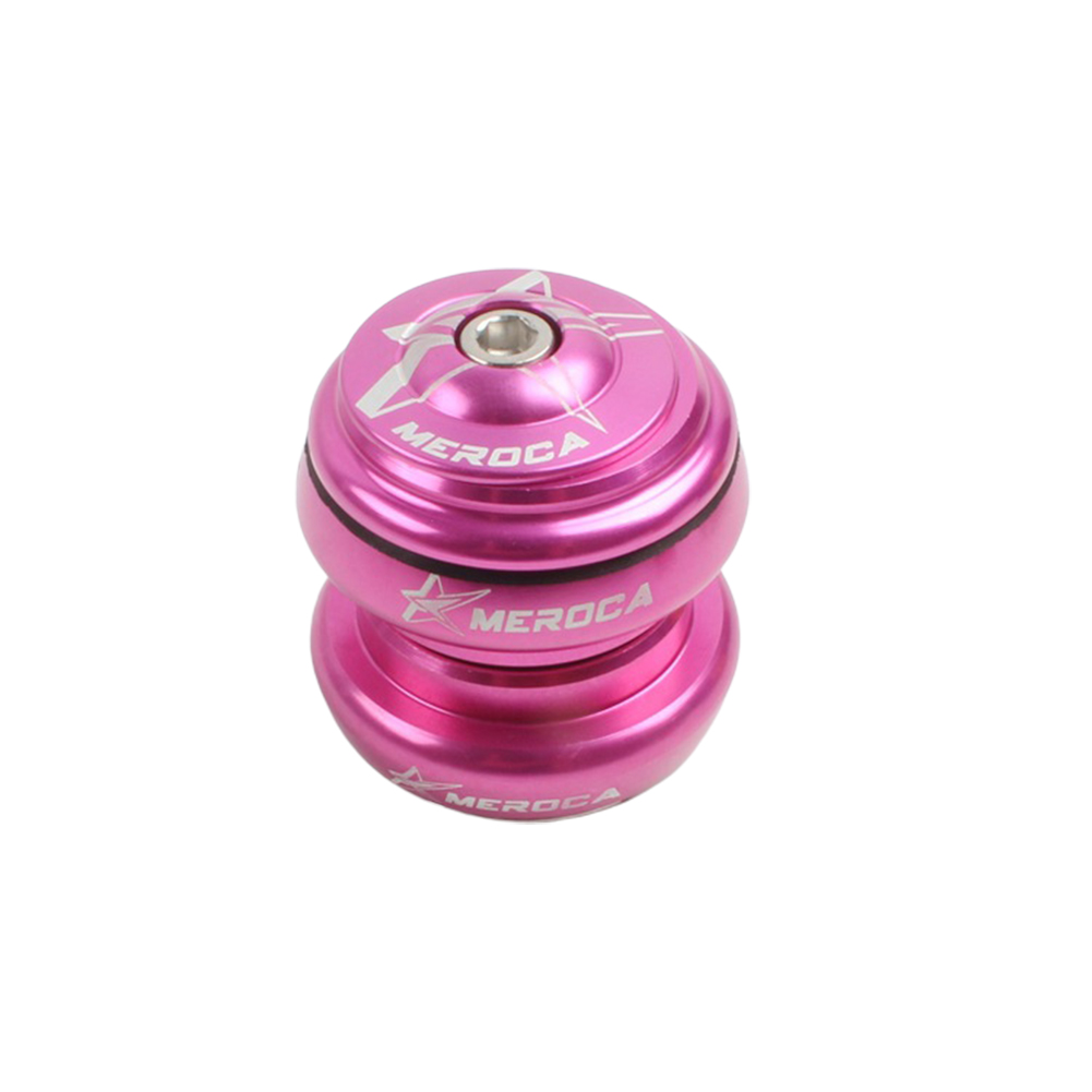Aluminum Alloy Trolley Bearings Set 34mm for KOKUA Balance Bike Refitted Mountain Bike Steel Frame Bearings Kit Rose red