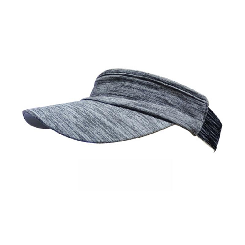 Men Women Outdoor Running Fishing Sunshade Hollow Top Training Sports Sweat Absorbent Hat ME-J-12_One size