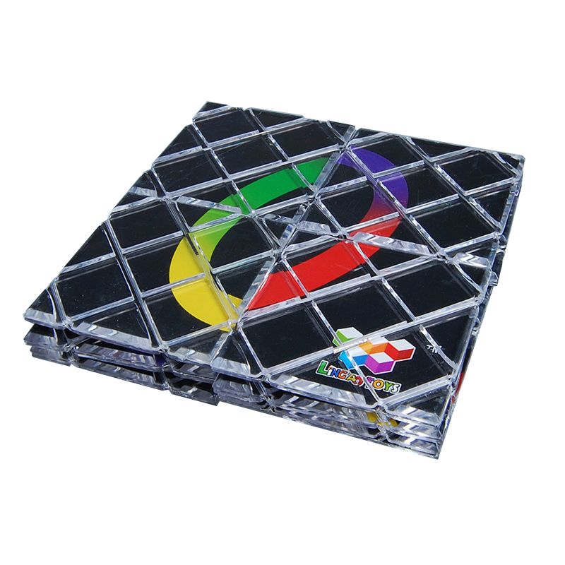 LingAo 12 Panels 5 Rings Folding Puzzle Cube