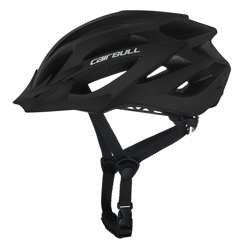 Professional Bicycle Helmet MTB Mountain Road Bike Safety Riding Helmet black_M/L (55-61CM)