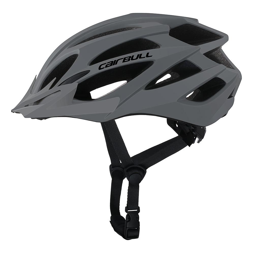 Professional Bicycle Helmet MTB Mountain Road Bike Safety Riding Helmet Deep gray_M/L (55-61CM)