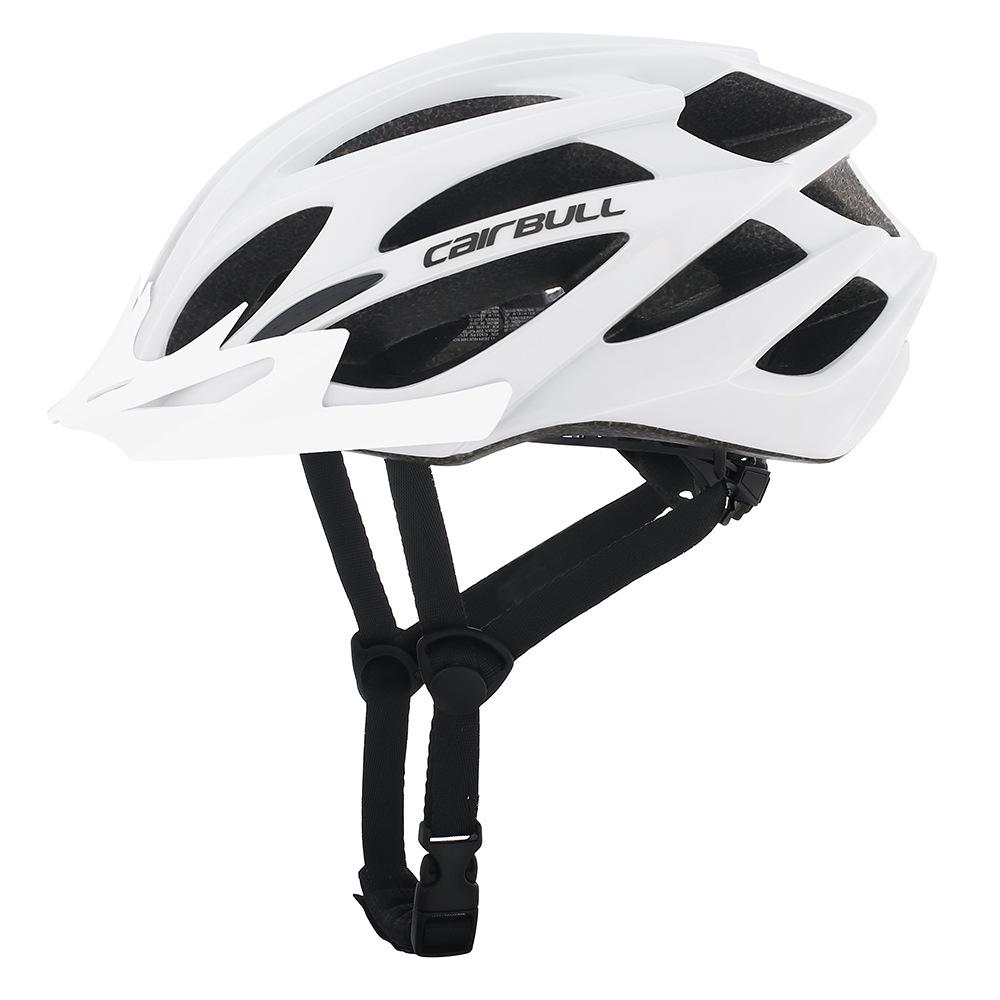 Professional Bicycle Helmet MTB Mountain Road Bike Safety Riding Helmet white_M/L (55-61CM)
