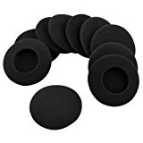 Generic 5 Pairs Replacement Ear Earbud Pad Covers for Headset Earphones 40mm