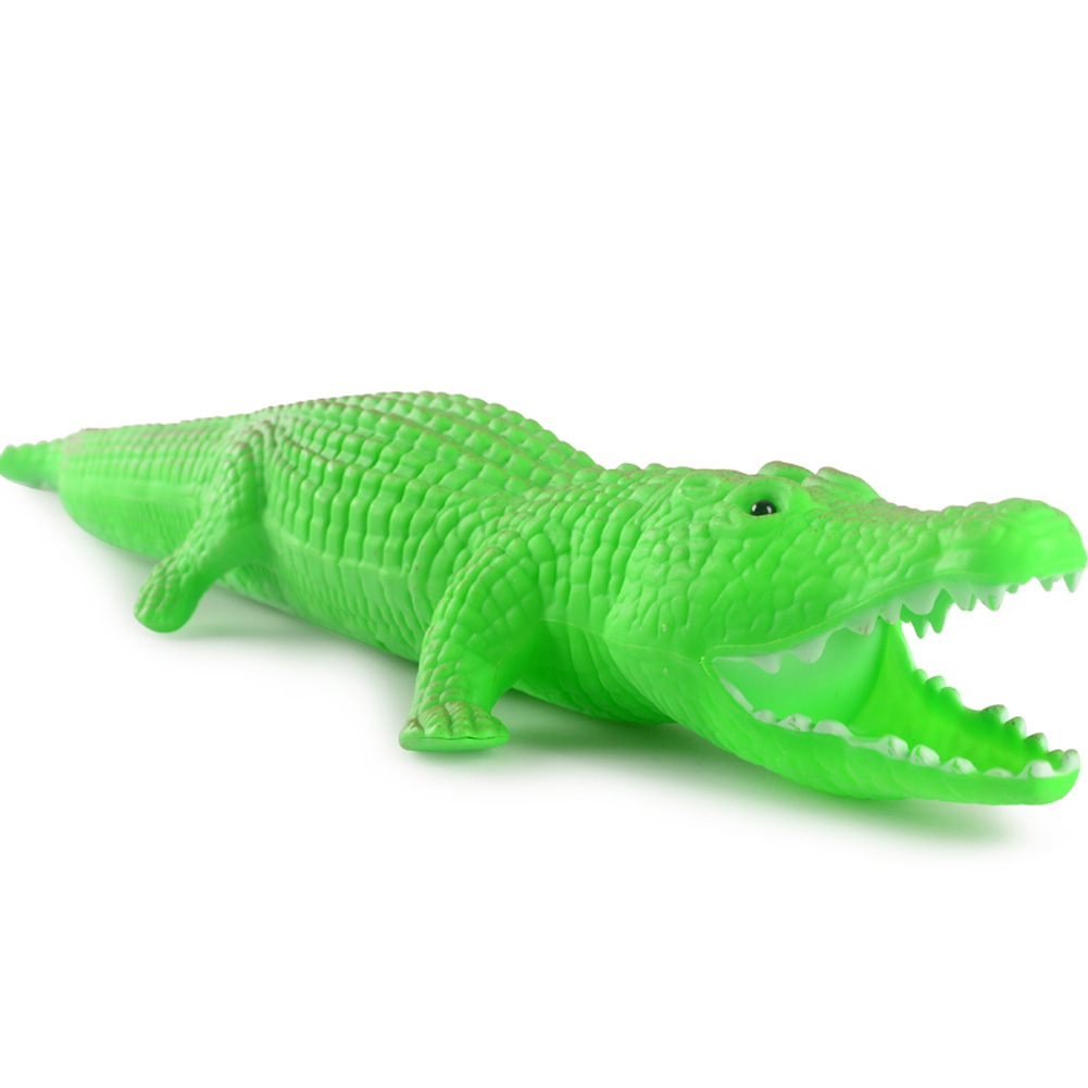 Water Torch Kids Large Capacity Animal Shape Swimming Pull Toys for Children Bath Beach Toy alligator