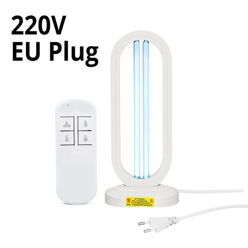 UV Disinfection Lamp 220V/110V Portable UVC Germicidal Light Sterilizing Lights Sterlizer