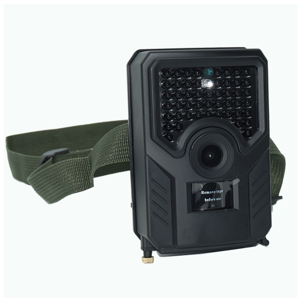 PR200B HD 1080P Camera Waterproof Multifunctional Trapping Cam IR Cut Surveillance Vision Thermal Camera Black shell