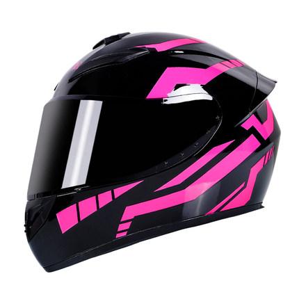 Motorcycle Helmet cool Modular Moto Helmet With Inner Sun Visor Safety Double Lens Racing Full Face the Helmet Moto Helmet Samurai_L