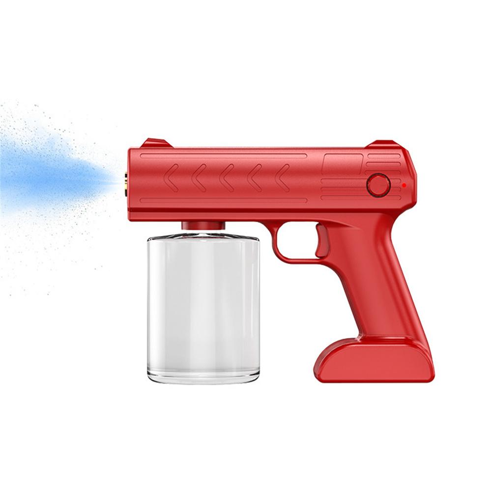 1 Set Disinfection  Sprayer Outdoor Uv Disinfection Spray Portable Disinfection For Home Office Red