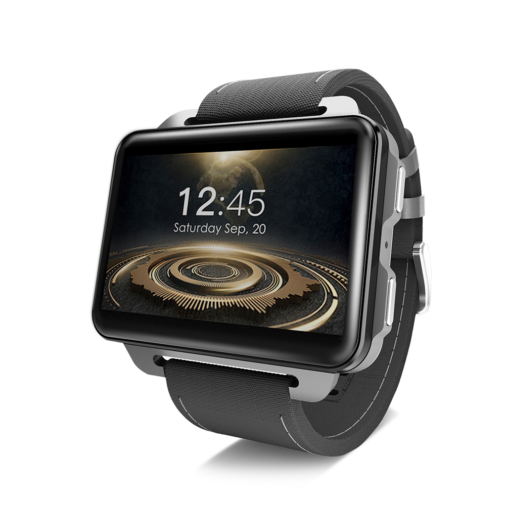 Smart 3G Phone Watch GPS+WiFi Positioning DM99 Android Phone Watch for Adult And Kids Black