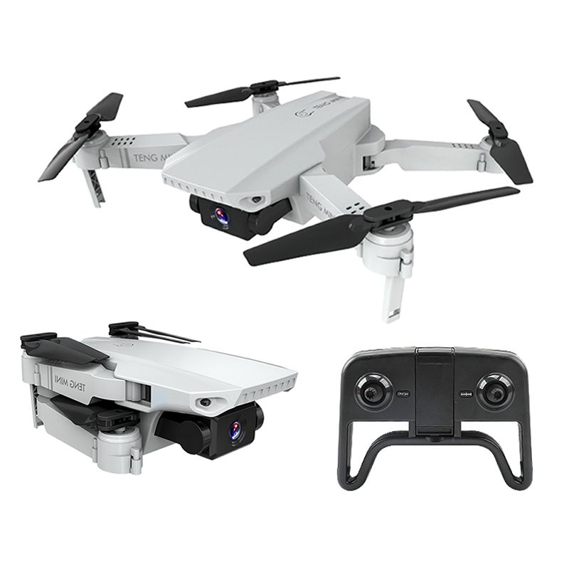 KF609 Mini Drone 4K HD Camera Wifi FPV Selfie Quadcopter Headless Mode Stuck Protection Helicopter Stable Height Fly Drone Toy 720P + storage bag