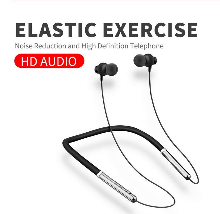 Q30 Wireless Headset Bluetooth 5.0 CSR Chip Low Power Stereo Sound Sports Neckband In-ear Earphone black