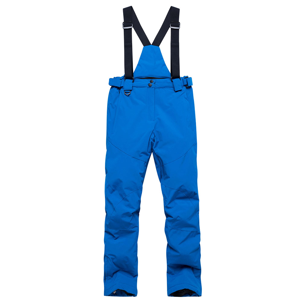 Women Man Winter Warm Thickening Waterproof And Windproof Skiing Hiking Pants Trousers without Belt blue_XL