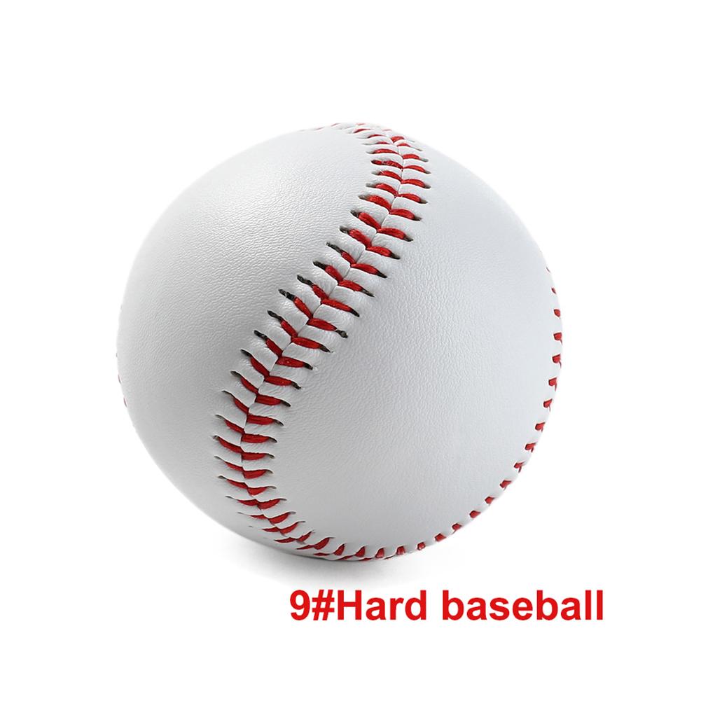 Universal 9# Handmade Baseballs Hard&Soft Baseball Balls Training Exercise Baseball Hard
