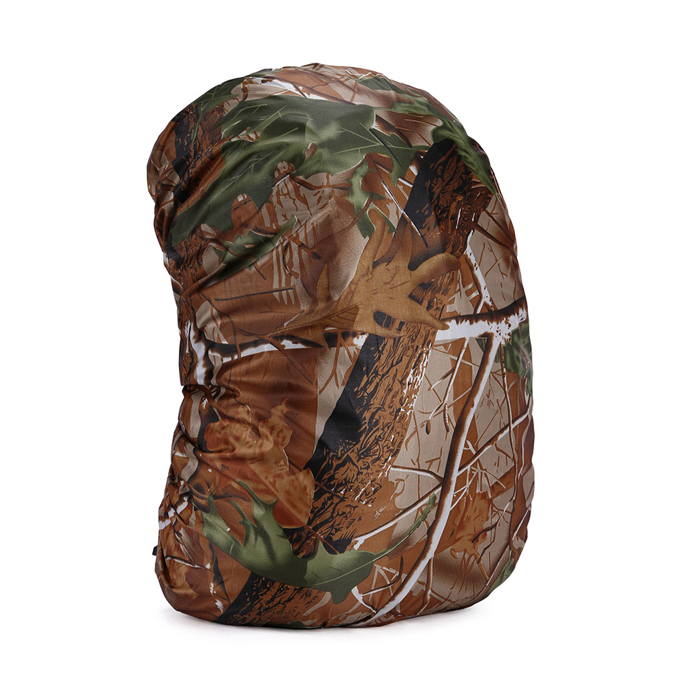 RainCover 35-80L Lightweight Waterproof Backpack Bag Rain Cover For Travel Bag  tree camouflage_35 liters (S)
