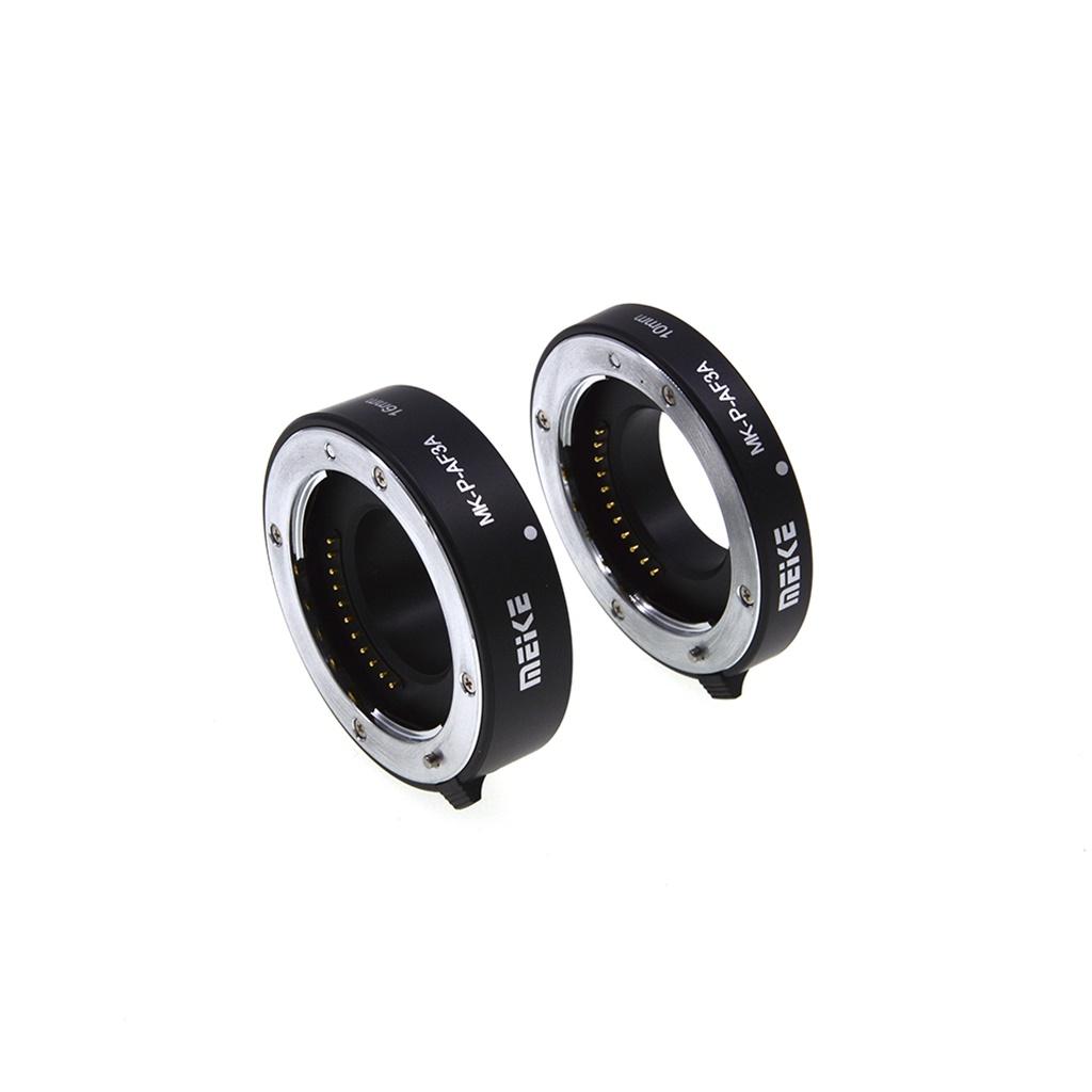 Metal Auto Focus Macro Extension Camera Tube 10mm 16mm for Panasonic/Olympus Micro 4/3 Four Thirds Mount Mirrorless Cameras black