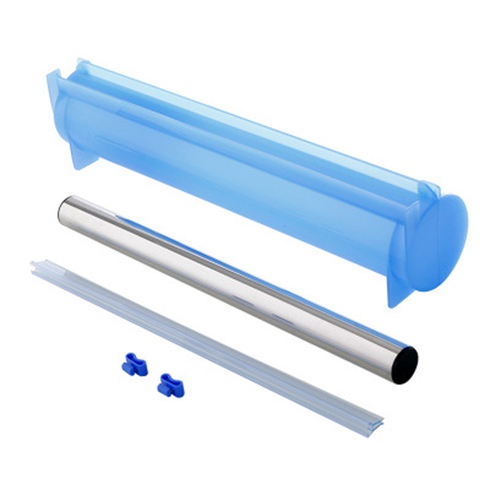 Plastic Cling Wrap Storage Box Cutter Dust-proof Household Kitchen Refrigerator Tool Accessory blue