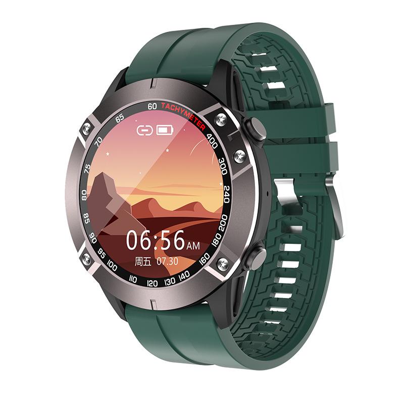 DK60 Smart Watch Bluetooth Call Heart Rate Blood Pressure Music Control Sports Bracelet Green