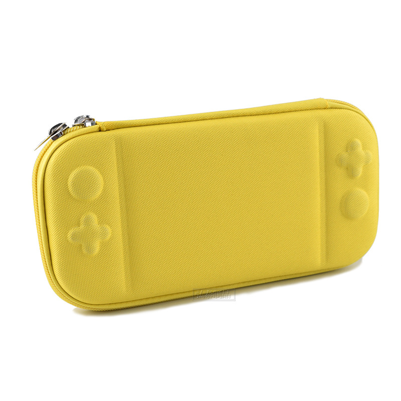 Storage Case for Switch Lite Game Console Shockproof Anti-scratch Portable Travel Shell Overall Protective Cover  yellow
