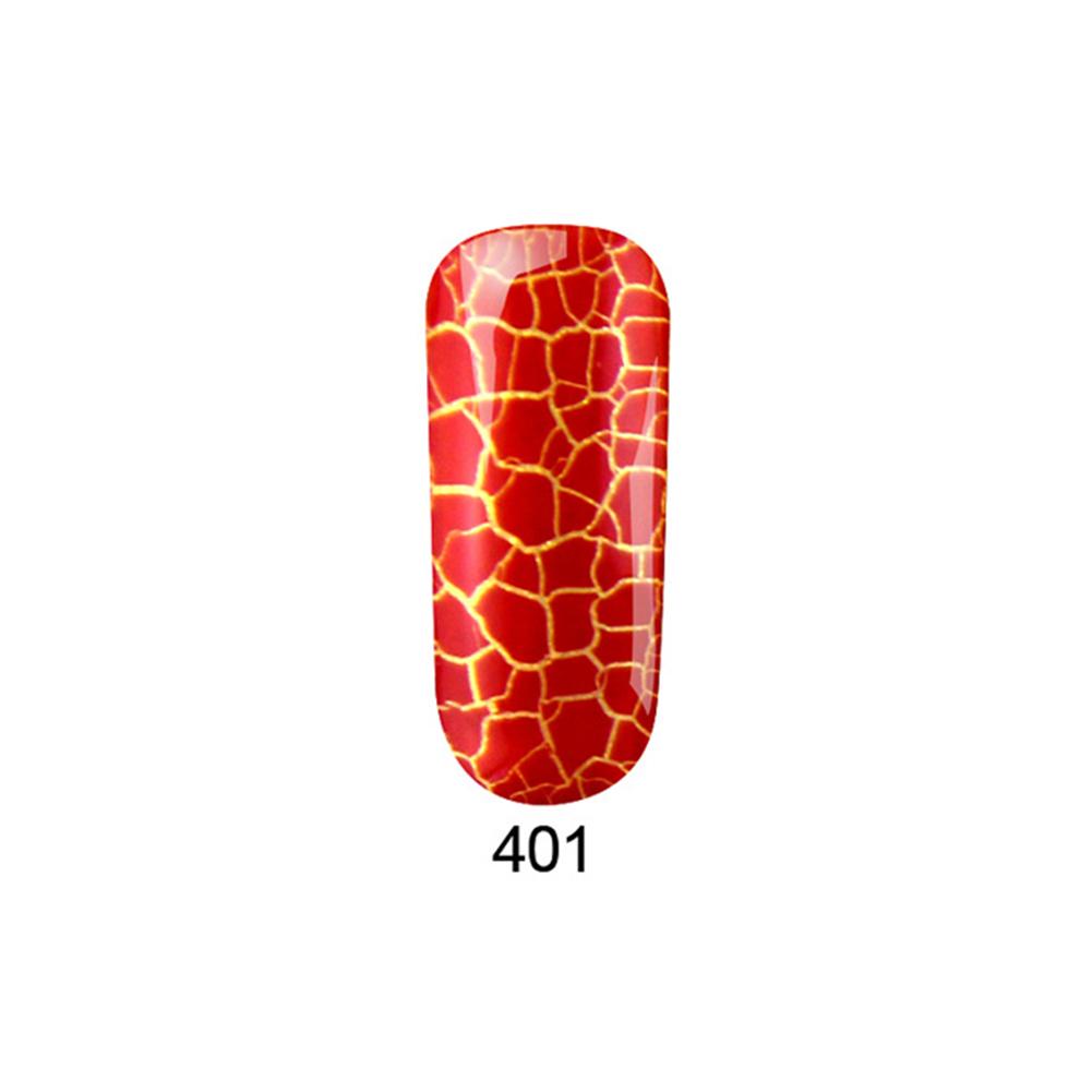Fission Crack Gel Nails Polish Pigment Soak Off LED UV Gel Lacquer Cracking Gel Varnish Crackle Nail Art AI C8-401