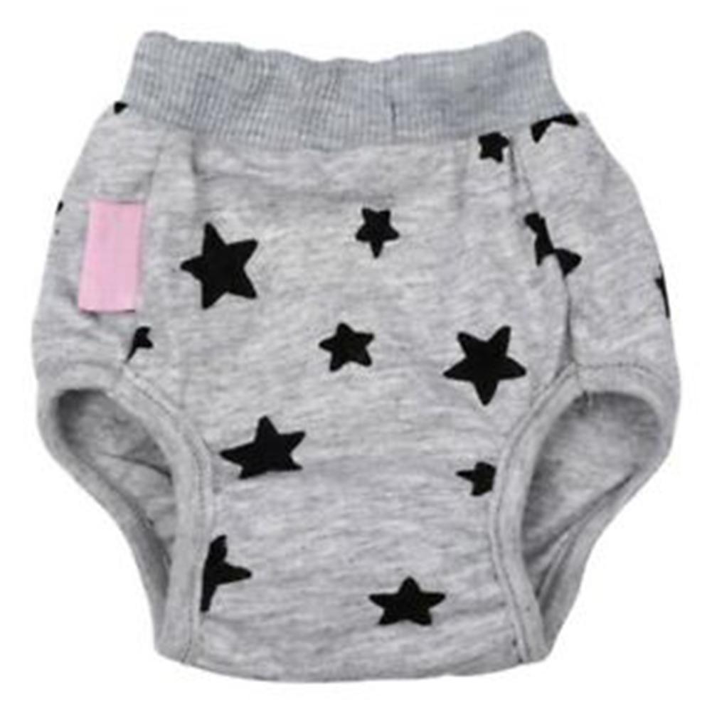 Pet Sanitary Panties Diaper Female Underwear for Dog Teddy Pomeranian Gray_L