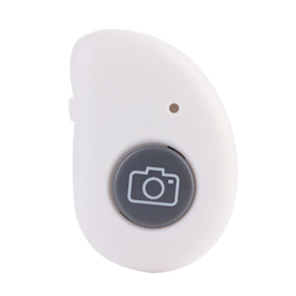 Bluetooth Self-Timer Remote Control Wireless Mobile Phone Self-Timer Stick Shutter  white