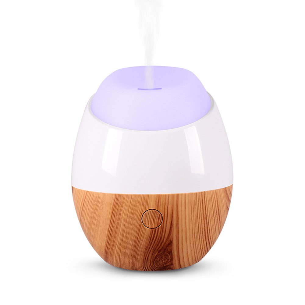 Air Humidifier Mini Silent for Home Hotel USB Plug-in Air Purifying Lamp White