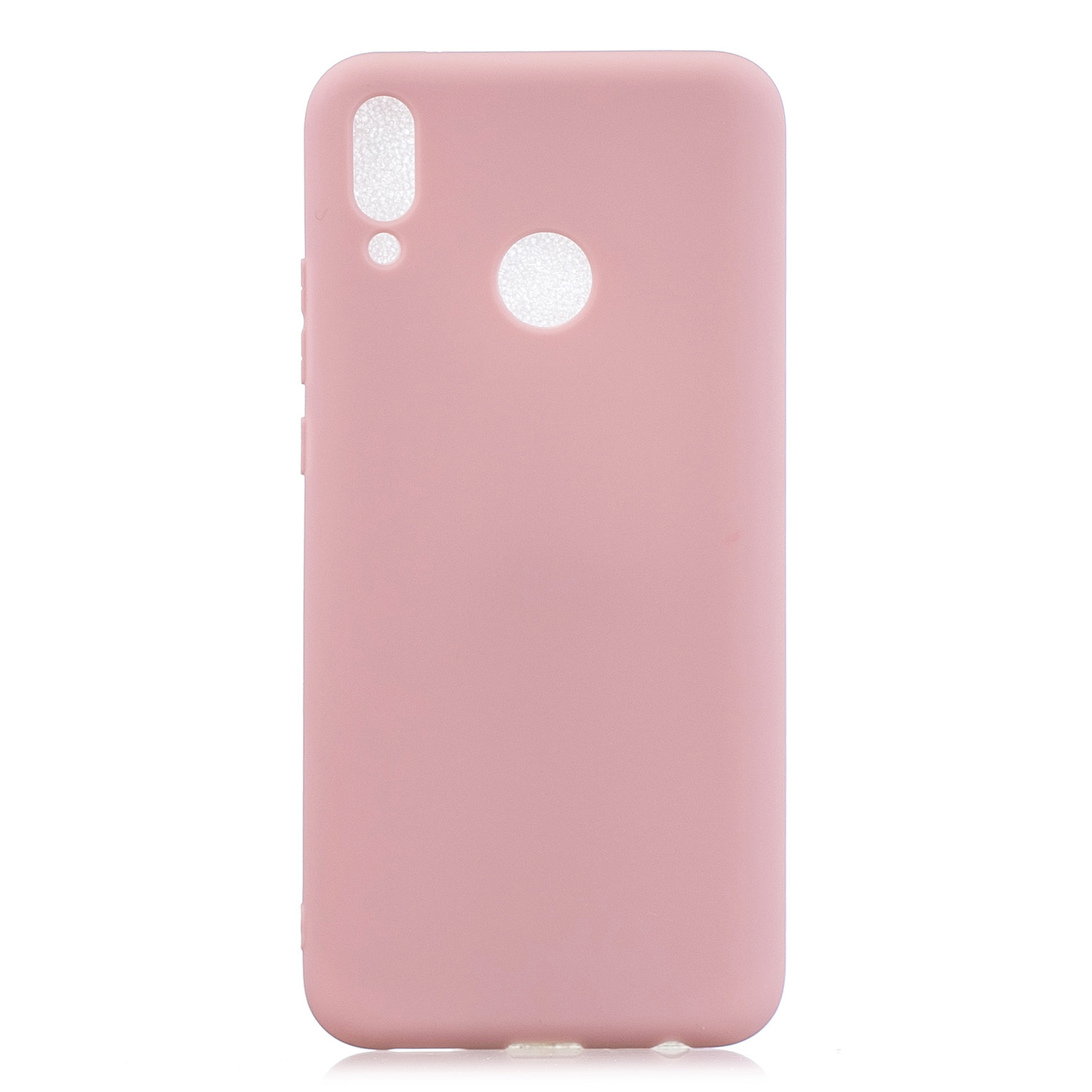 For HUAWEI Y9 2019 Lovely Candy Color Matte TPU Anti-scratch Non-slip Protective Cover Back Case 11