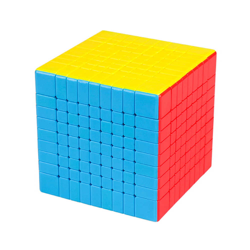 MOYU 9x9 Magic Puzzle Cube Adult Kids Educational Toy Birthday Festival Gift  Fluorescent color