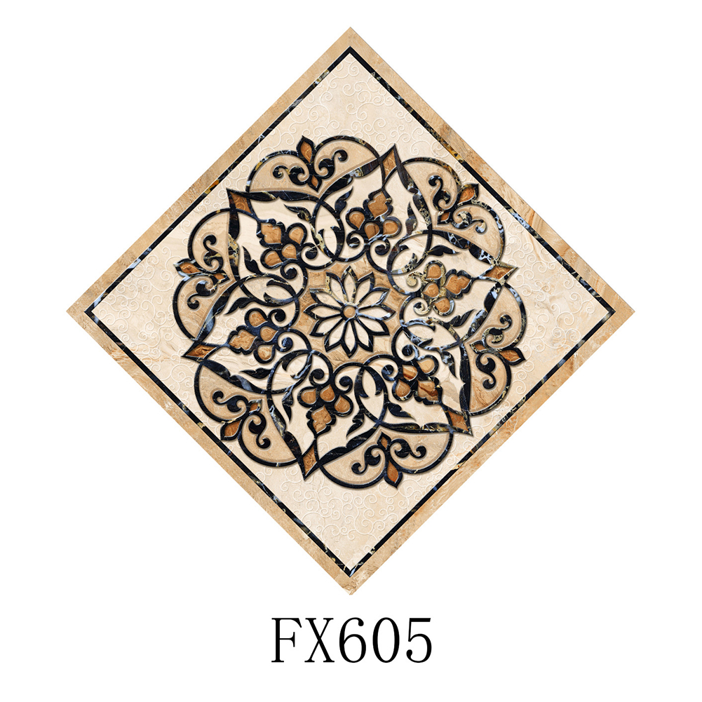 10Pcs Waterproof Wear Resistant Diagonal Tile Wall Sticker Decoration FX605