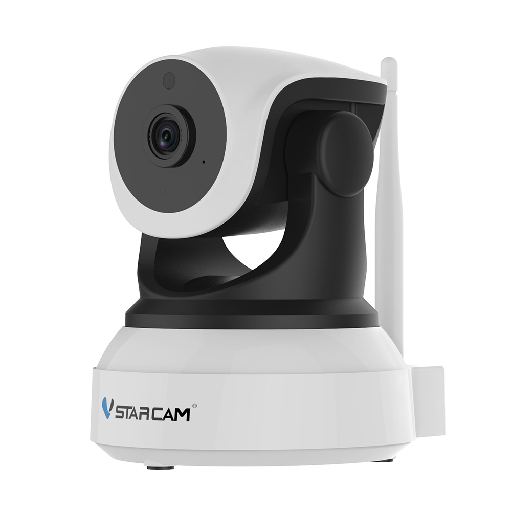 C7824WIP IP Camera with Night Vision for Indoor 2 Way Audio and Multi-Users Home Security Monitor Neutral no logo_English and English Standard