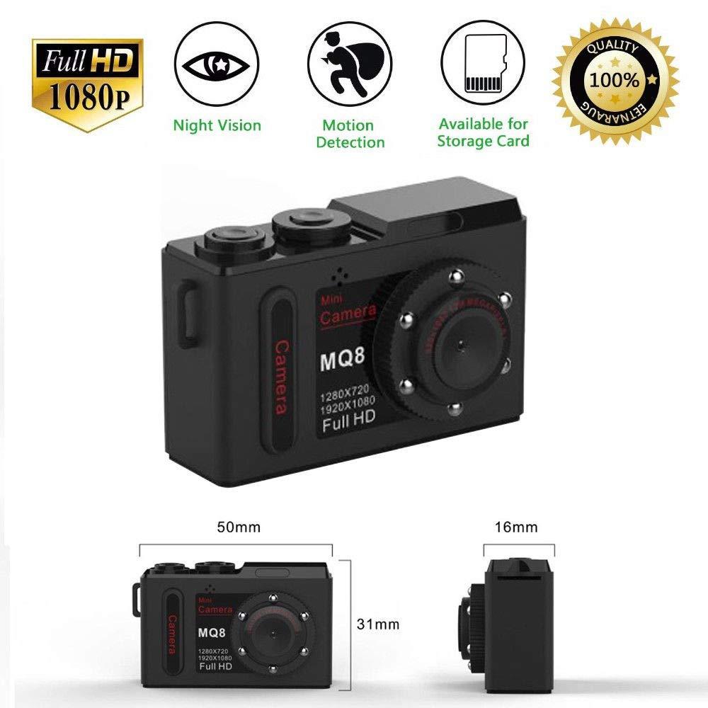 Portable Digital Camera 1080P Dry Battery HD Small Camcorder Sports DV Camera black