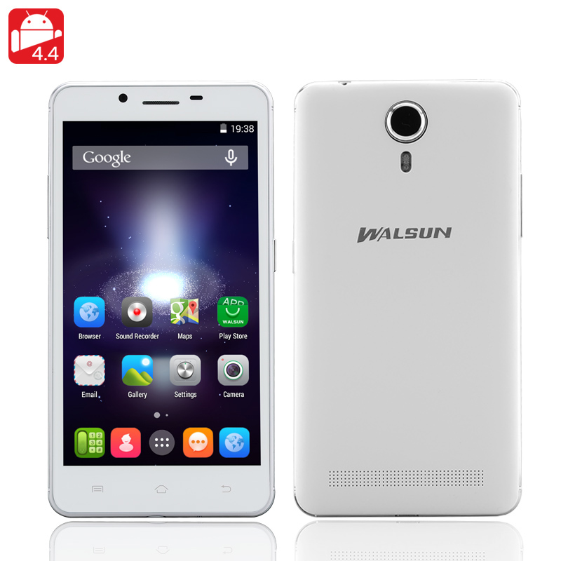 Walsun X1 5 Inch Smarphone (White)