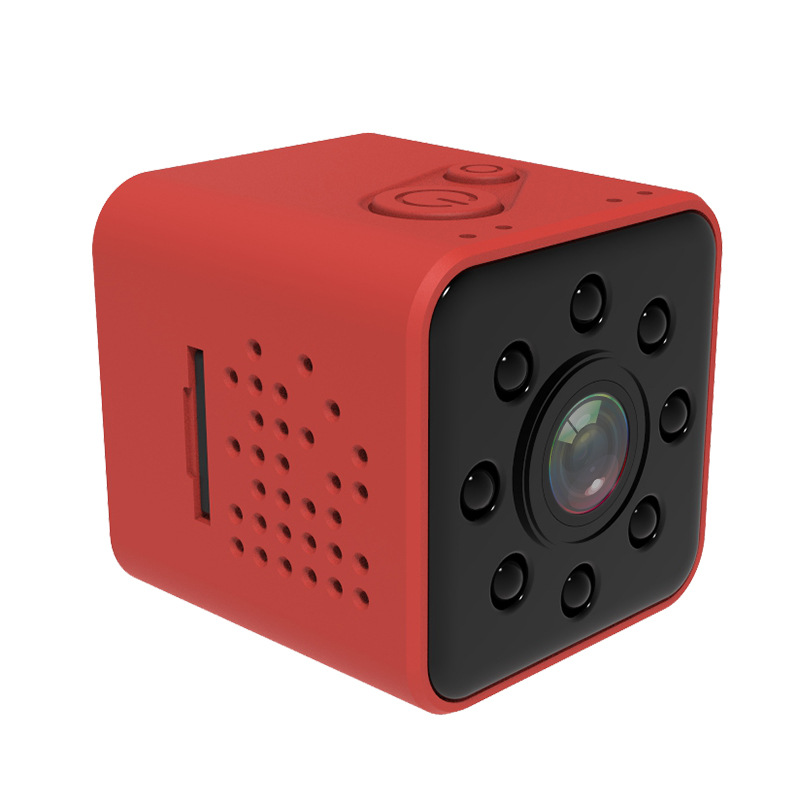SQ23 1080P Mini Camera - Red