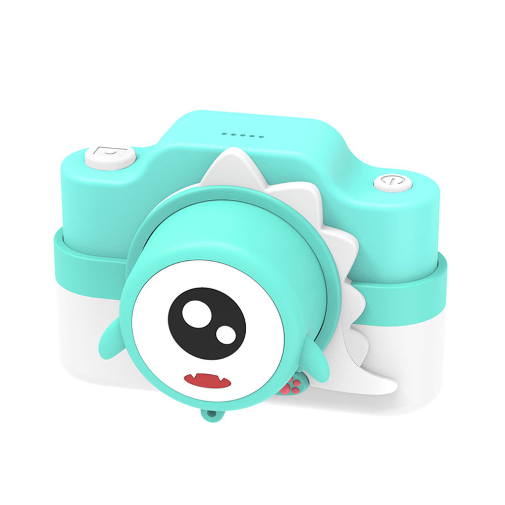Children's Camera WIFI Dual Camera Shooting Cartoon Digital Camera for Children Green