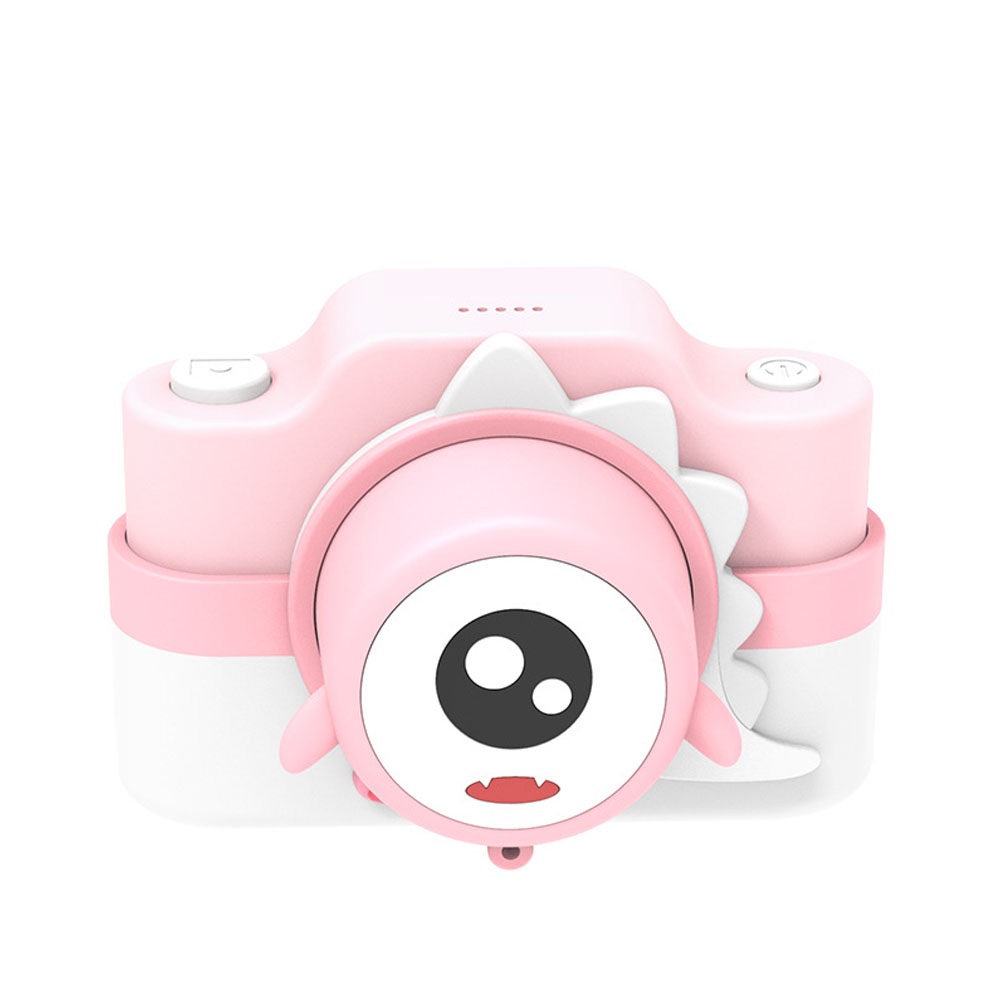 Children's Camera WIFI Dual Camera Shooting Cartoon Digital Camera for Children Pink
