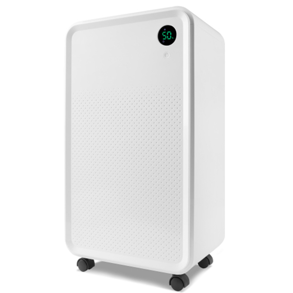 [US Direct] Dehumidifier 3000 Sq Ft With 2l Air Filter For Basement Medium To Large Rooms white