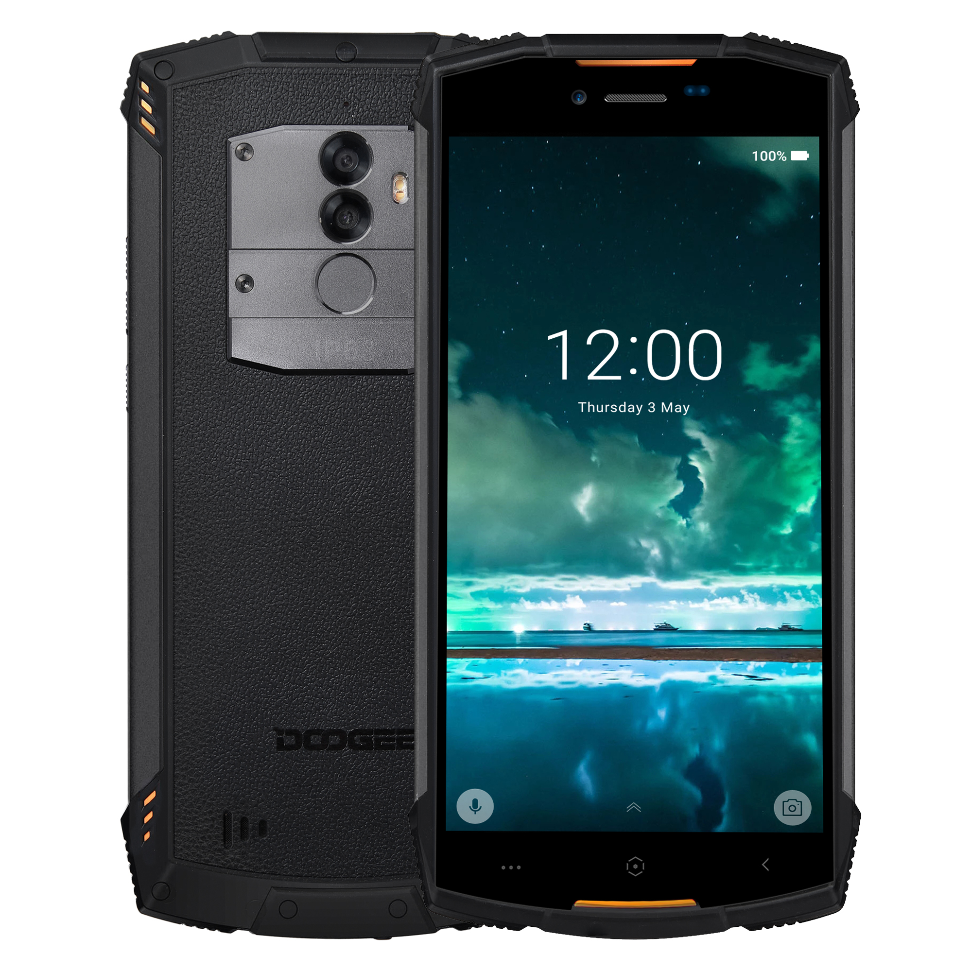 DOOGEE S55 5.5 Inch 64GB Water-resista Orange