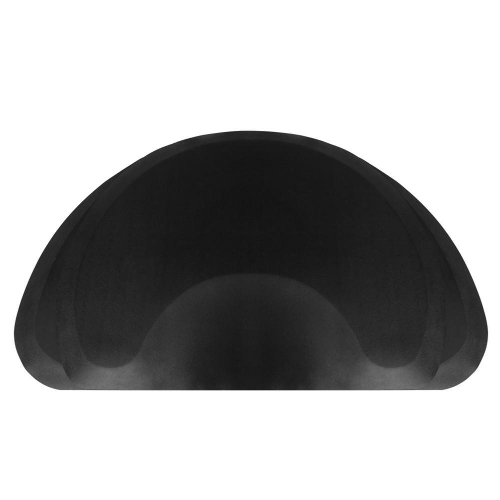 [US Direct] Salon Anti Fatigue Mat For Hair Stylist Barber Stations Floor Mat Non Slip Waterproof High-heel Proof Black