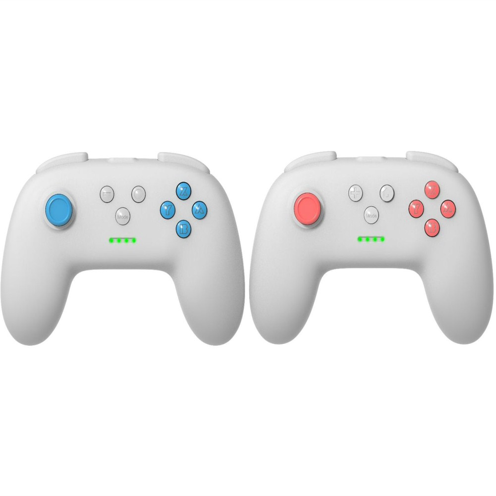 1 Pair of Bluetooth Wireless Game Controller for Switch Pro  Light gray