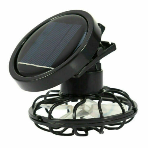 Clip-on Hat Mini Clip Solar Sun Energy Power Panel Cell Cooling Fan Cooler  As shown