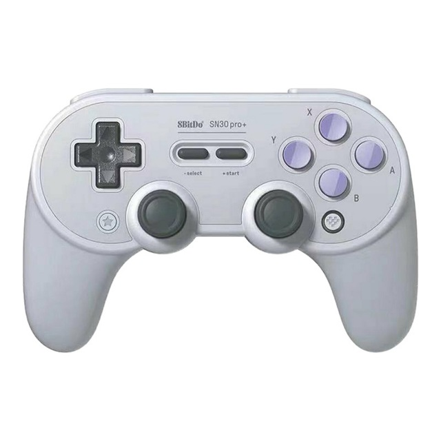 SN30 PRO+ Bluetooth Gamepad Controller with Joystick for Mac OS Switch Windows Android Dark gray