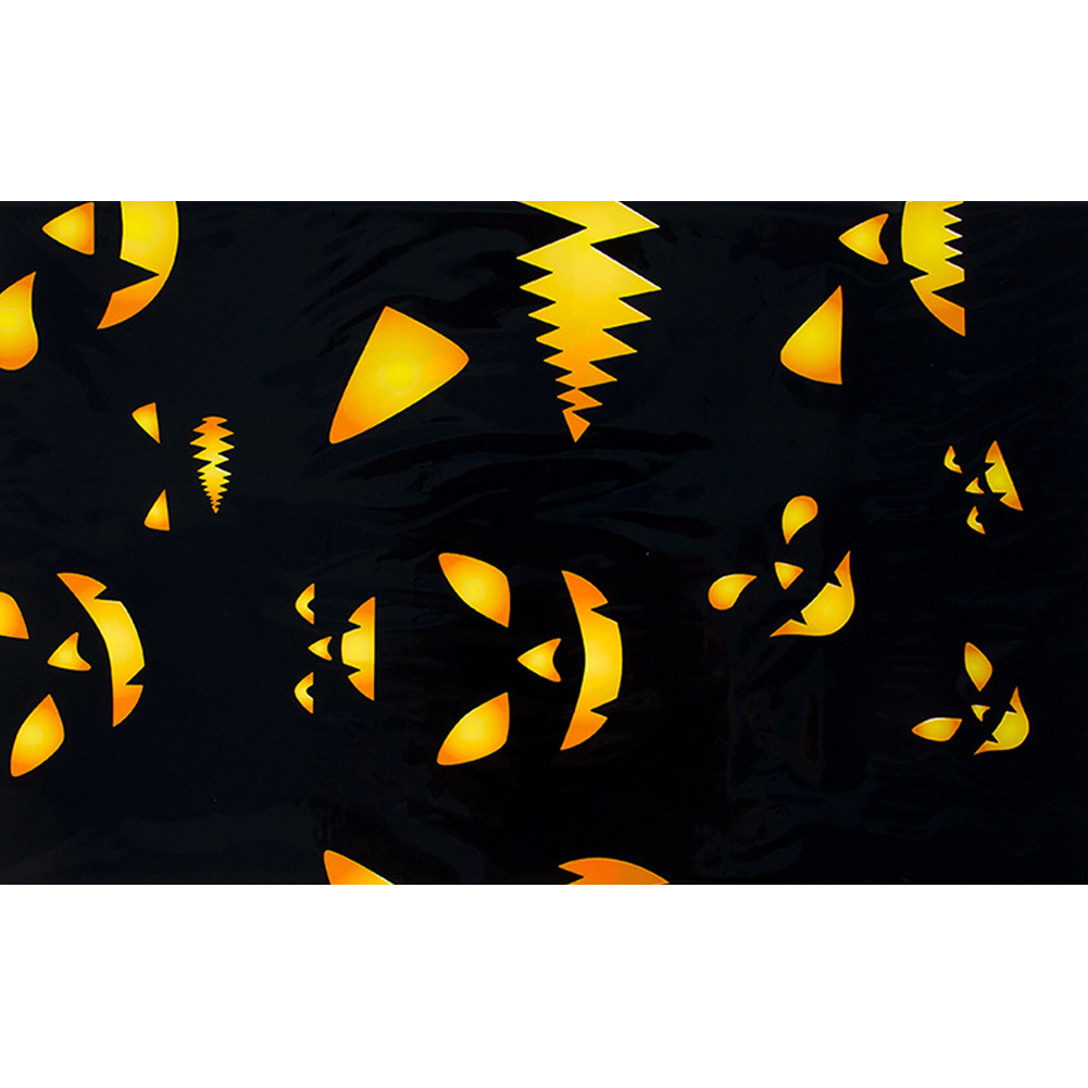 Printed Tablecloth PVC Halloween Disposable Tablecloth Table Cloth Bar Table Decoration G