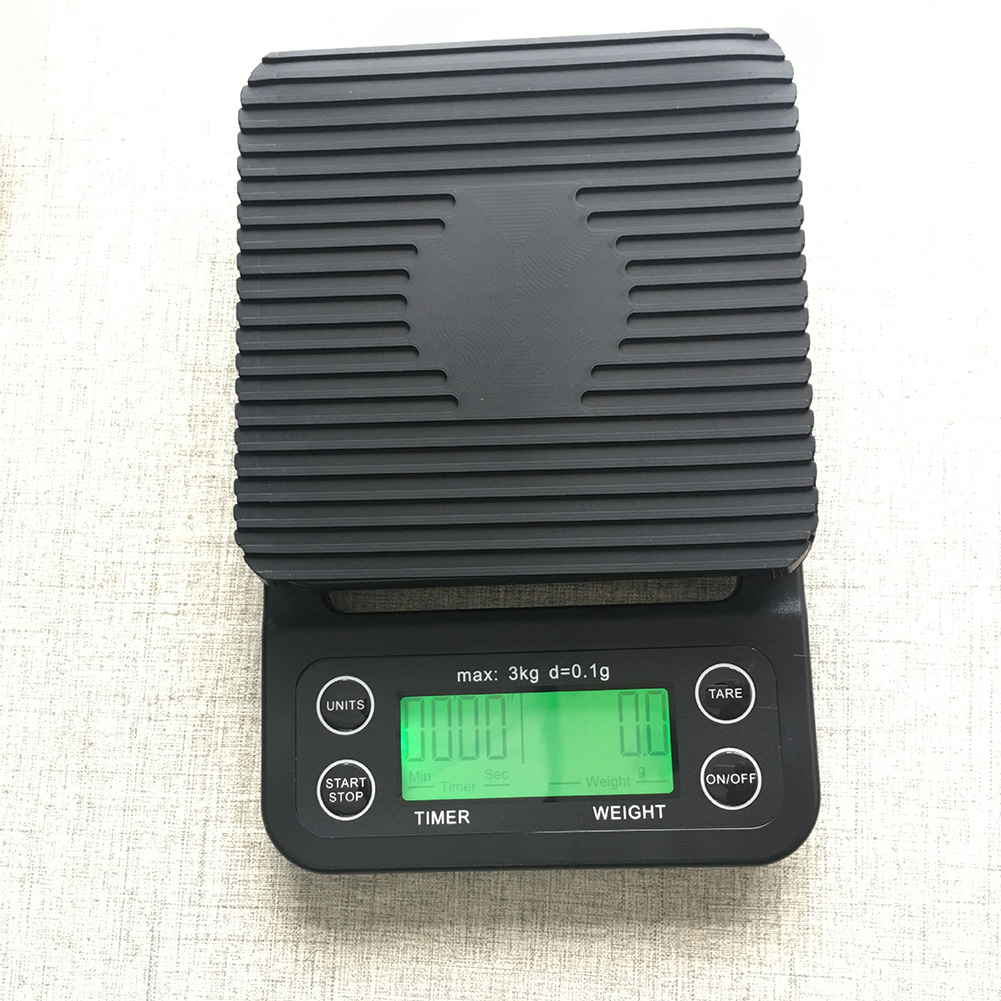 High Precision Electronic Scale for Kitchen Food Timing Coffee Supplies 3kg/0.1g black