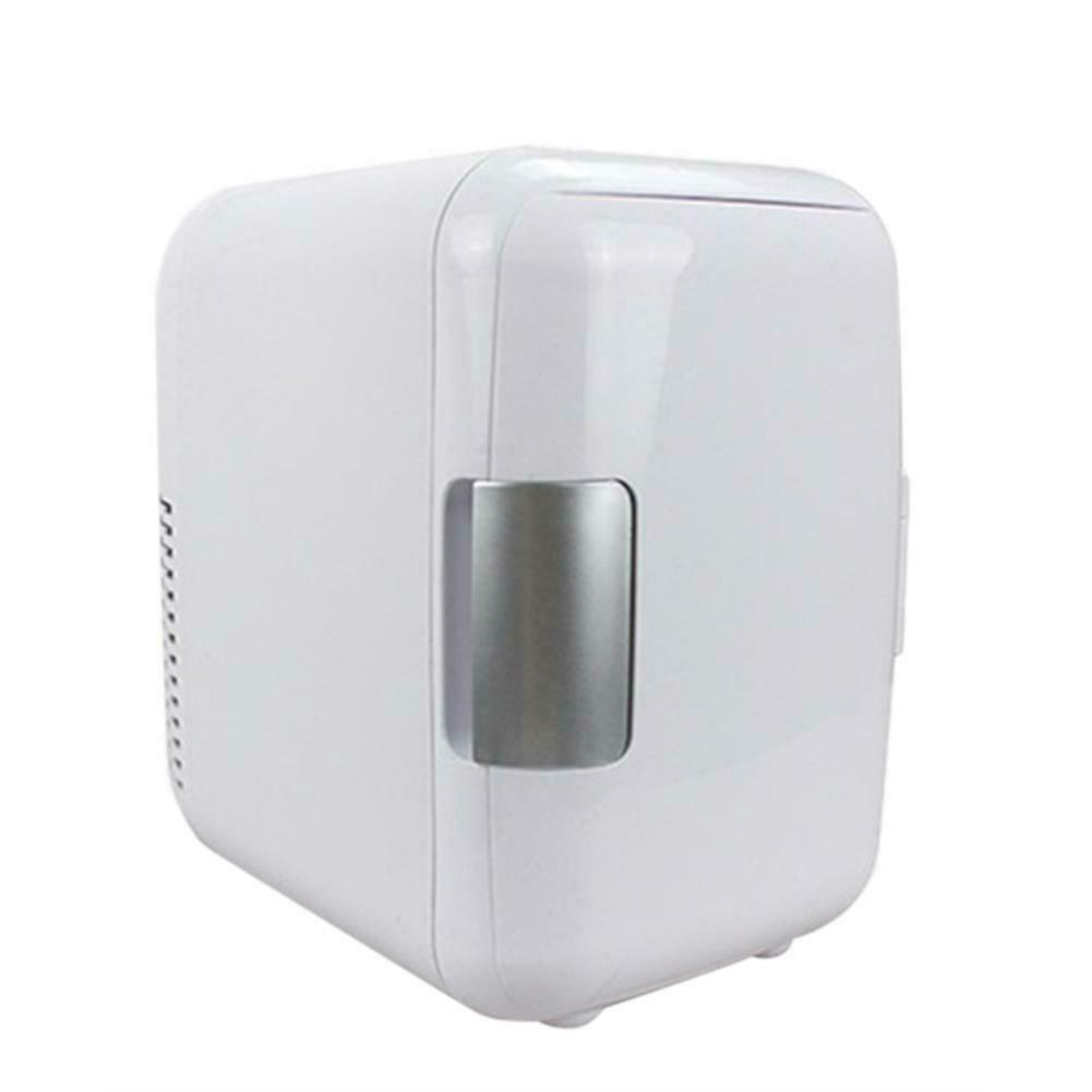 4L Refrigerator Ultra-quiet Low-noise Coolers for Car Mini Refrigerators Freezer Cooling Box White, car