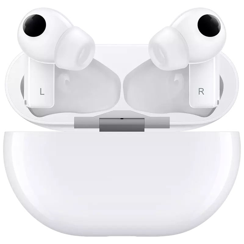 Huawei FreeBuds Pro Earphone TWS In-ear Bluetooth 5.2 Headset Earbuds Active Noise Cancellation Earphones white_Freebuds pro wireless charger